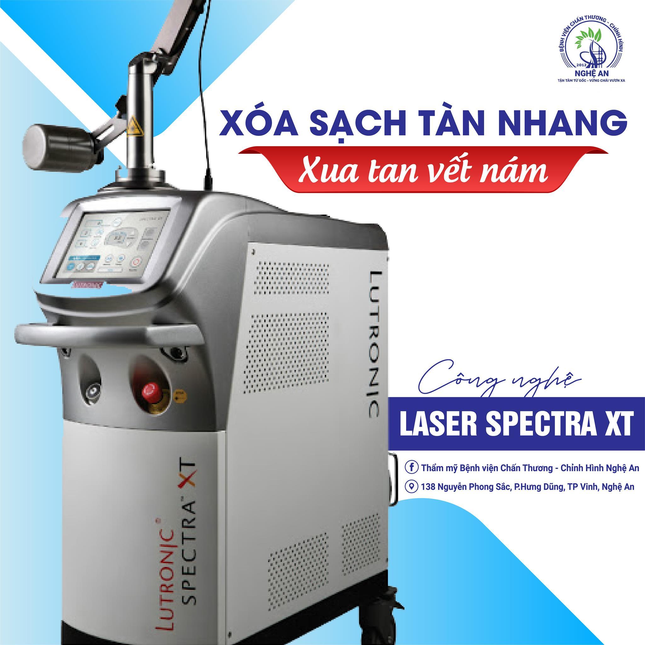 Công nghệ Laser Spectra XT xóa sạch tàn nhang – Xua tan vết nám