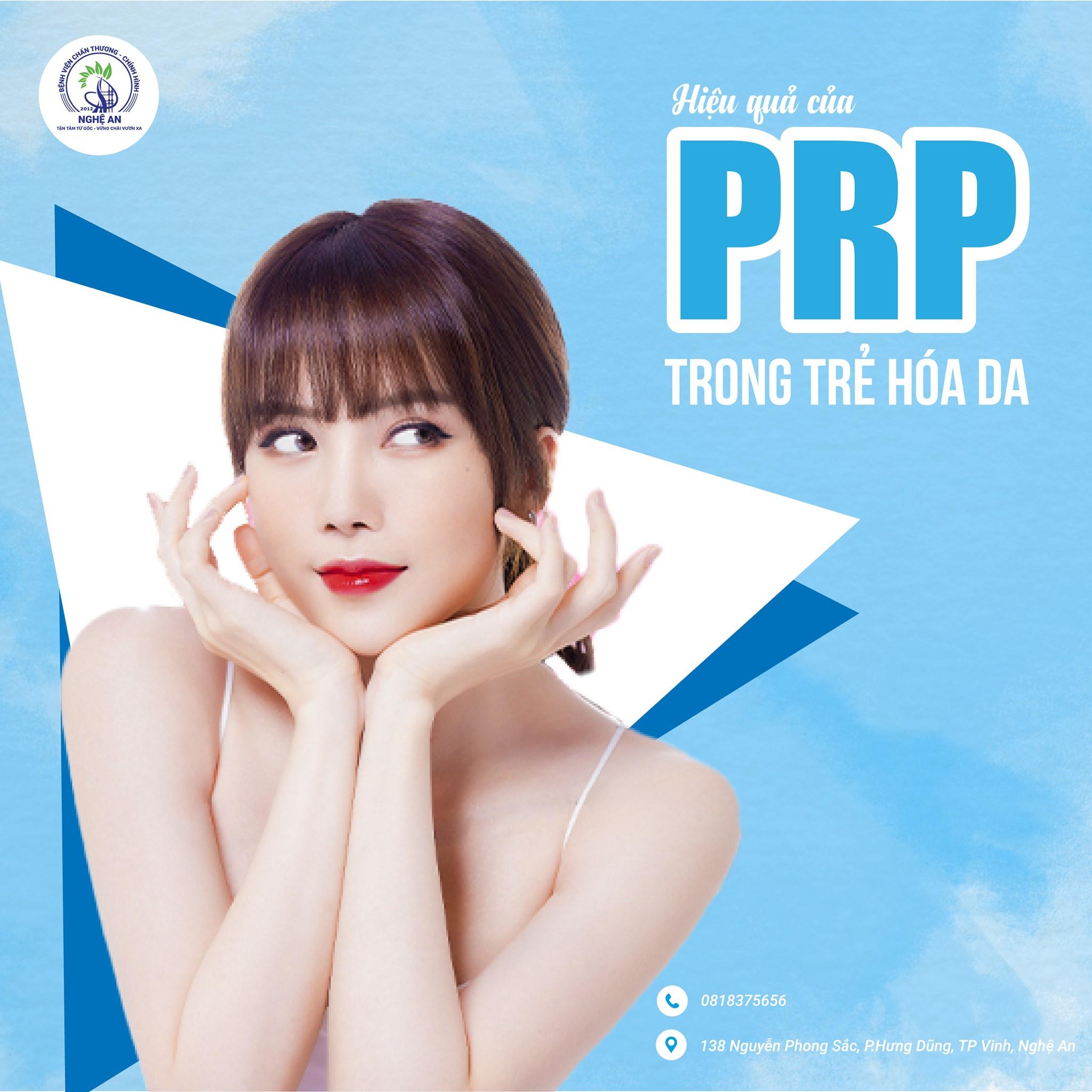 PRP là gì? Hiệu quả của PRP trong trẻ hóa da